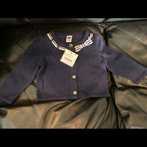 Janie & Jack Navy Sweater
